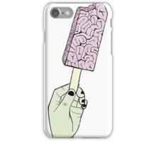ZOMBIE BRAIN ICE CREAM merch iPhone Case/Skin