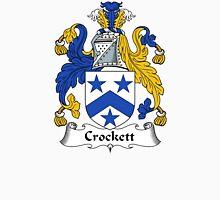 Crockett Coat of Arms / Crockett Family Crest Unisex T-Shirt