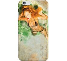 Piper Precious Wet Poster No73-5824 iPhone Case/Skin