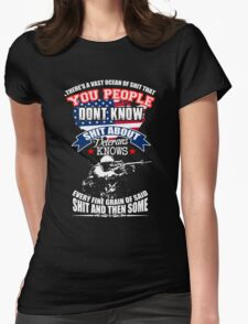 Veteran - Knows Womens Fitted T-Shirt