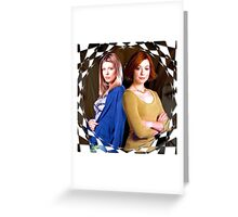 Tara Buffy Willow 2 Greeting Card