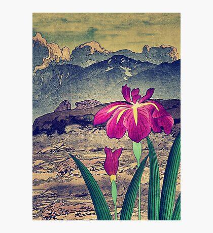 Evening Hues at Jiksa Photographic Print