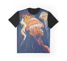 Painterly Jellyfish  Graphic T-Shirt