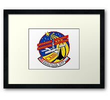 ISS Mission CXIII (113) Framed Print