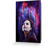 Show me the stars. Greeting Card