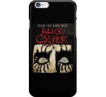 ALICE COOPER SPEND THE NIGHT TOUR iPhone Case/Skin