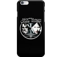 ALICE COOPER SHOCK THERAPY TOUR iPhone Case/Skin