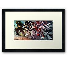 Dragon's Fury Framed Print