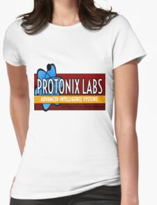 Logo-Protonix Labs Womens Fitted T-Shirt