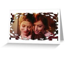 Tara Buffy Willow 4 Greeting Card