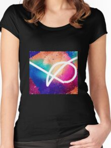 Graphic Artist Signiture  Women's Fitted Scoop T-Shirt