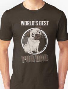 World's Best Pug Dad Unisex T-Shirt