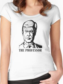 The Professor-Arsene Wenger Women's Fitted Scoop T-Shirt