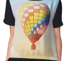 Young Forever Balloon [Day Version] Chiffon Top