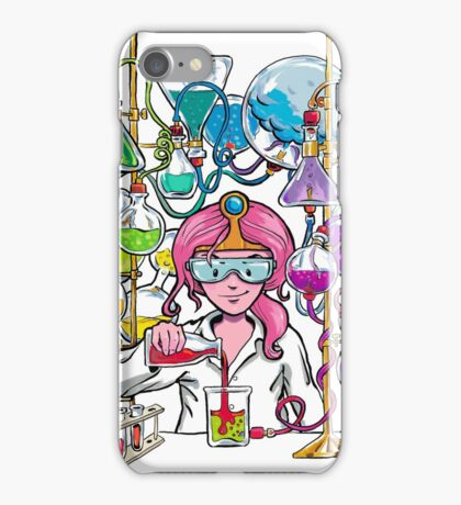 Science With Princess Bubblegum iPhone Case/Skin