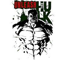 The Incredible Hulk Photographic Print