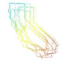 california chill blur Photographic Print