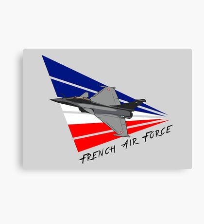 French Air Force Canvas Print