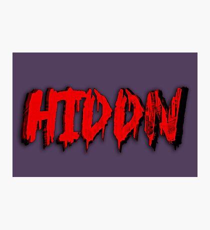 Hiddn Photographic Print