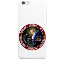 ISS Mission 29 iPhone Case/Skin