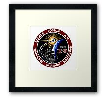 ISS Mission 29 Framed Print