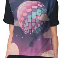 Young Forever Balloon [Night Version] Chiffon Top