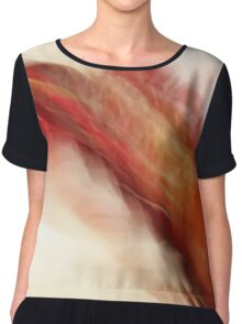 Floral Abstract II - JUSTART ©  Chiffon Top