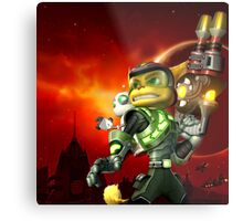 RATCHET CLANK ON ACTION Metal Print