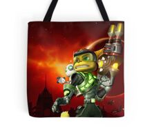 RATCHET CLANK ON ACTION Tote Bag