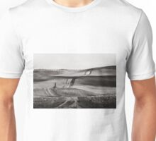 Hills from Val d'Orcia, Tuscany Unisex T-Shirt