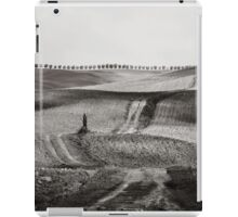 Hills from Val d'Orcia, Tuscany iPad Case/Skin