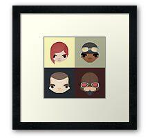 Vault Hunters Framed Print