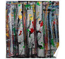 reggae splatter one Poster