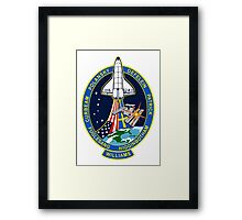 ISS Mission 116 Framed Print