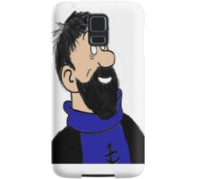 captain haddock Samsung Galaxy Case/Skin