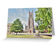 Mr. Duke's Chapel Greeting Card