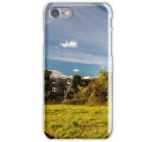 Abandoned farm in the countryside iPhone Case/Skin