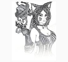 Foxfire Ahri by terina-art