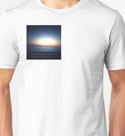 Abstract Sunset Unisex T-Shirt