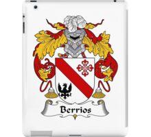 Berrios Coat of Arms/Family Crest iPad Case/Skin