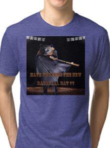 Baseball Bat Tri-blend T-Shirt