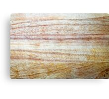 Wooden Chopping Board Texture Canvas Print