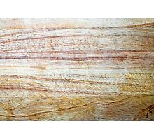Wooden Chopping Board Texture Photographic Print
