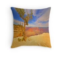 """Alone On The Rim"" Throw Pillow"