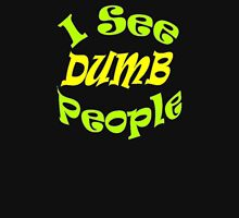 """I See Dumb People""  Tank Top"