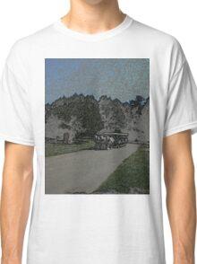 Carraige-Colored Pencil Classic T-Shirt
