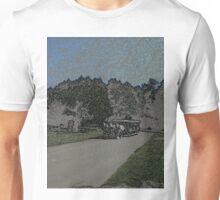 Carraige-Colored Pencil Unisex T-Shirt