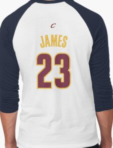 Lebron  James Men's Baseball ¾ T-Shirt