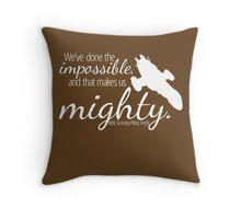 Firefly Shirt Throw Pillow