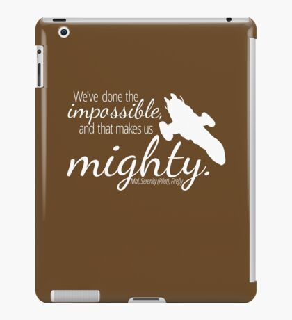 Firefly Shirt iPad Case/Skin